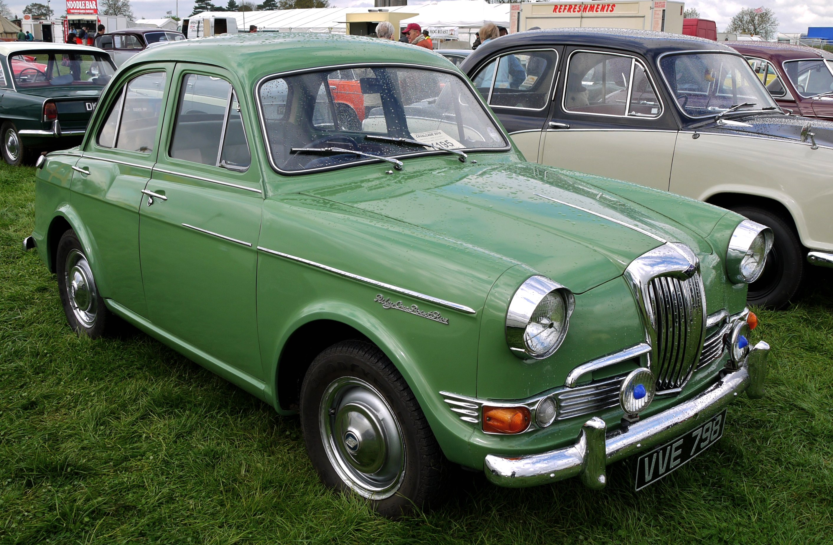 1960 Riley One-Point-Five #15
