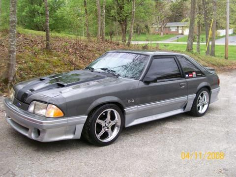 1991 Ford Mustang #6