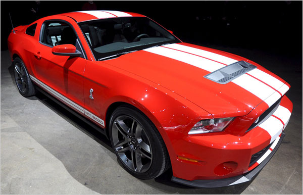 2010 Ford Shelby Gt500 #14