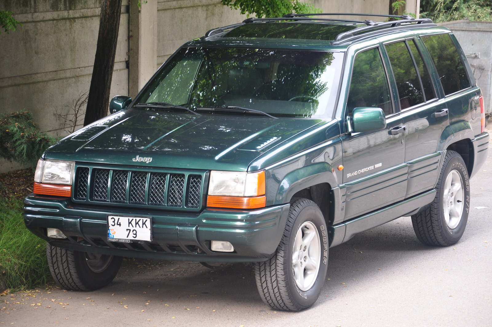 Jeep Grand Cherokee Dr Limited Wd Suv Pic on 1995 Jeep Grand Cherokee 5 2