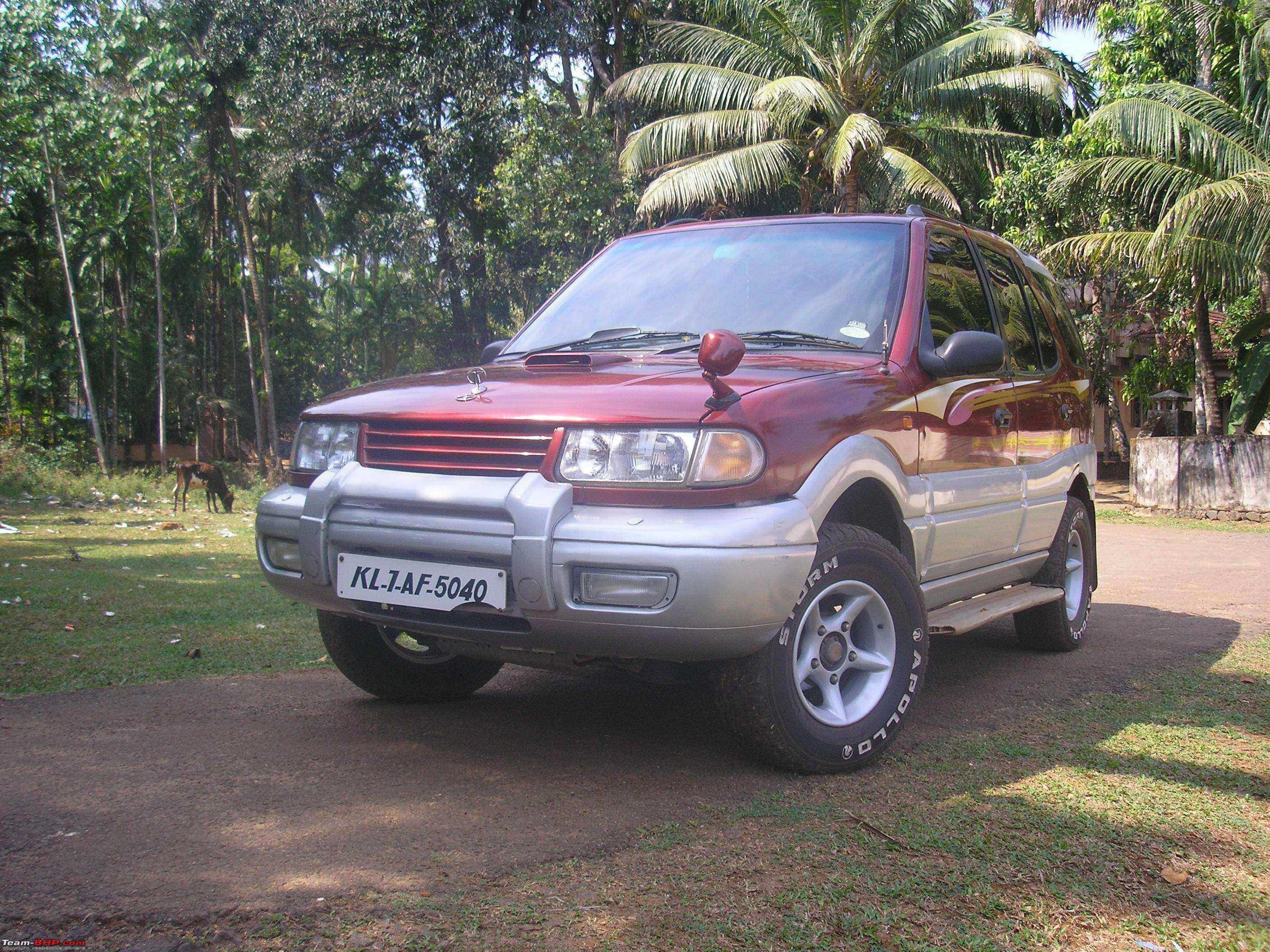 2002 Tata Safari #7