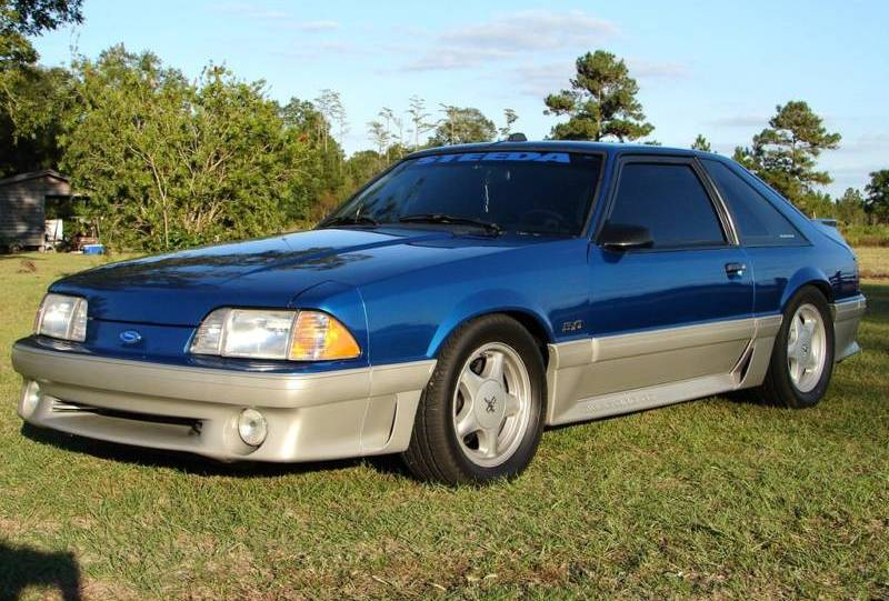 1992 Ford Mustang #7
