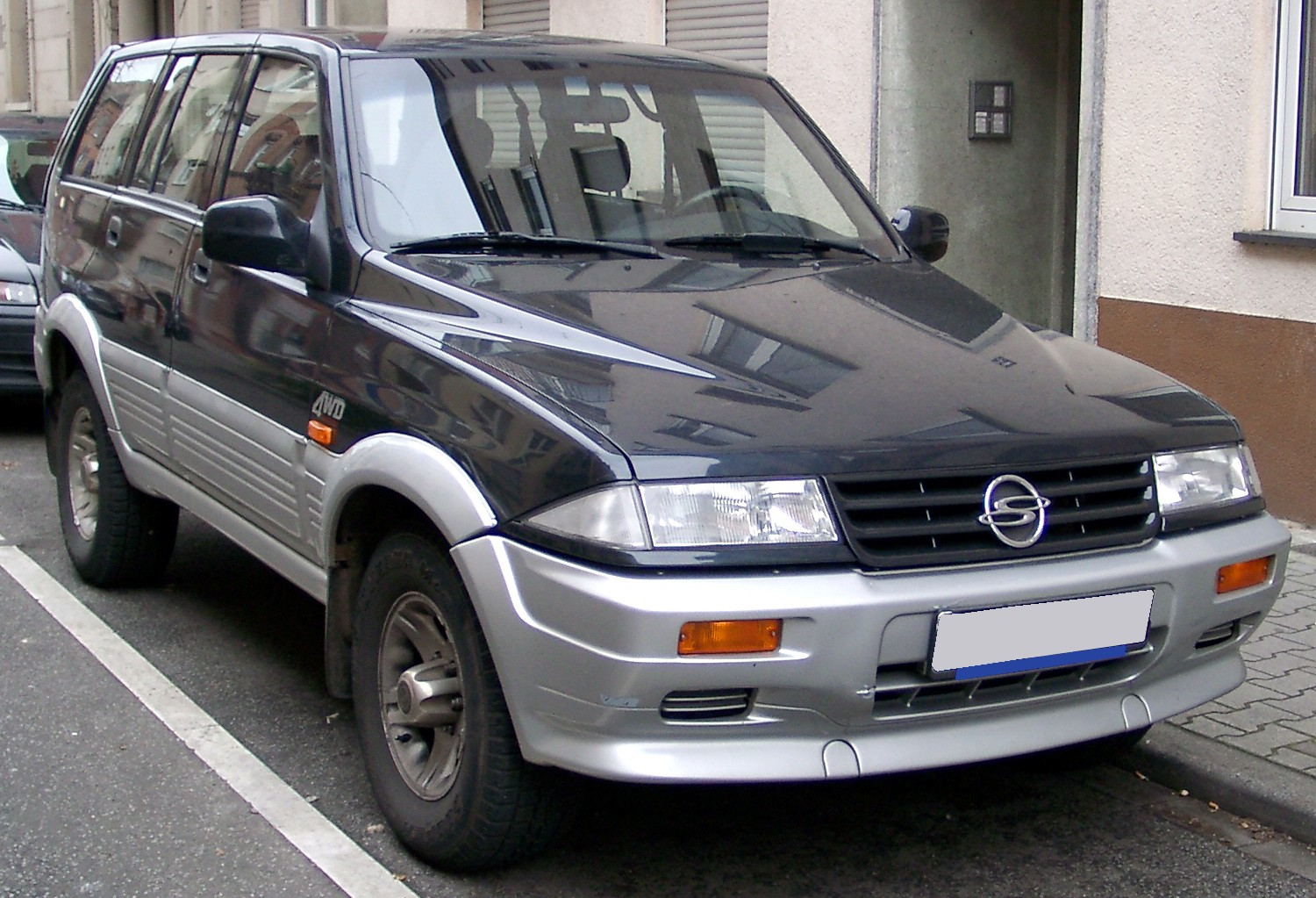 2001 Ssangyong Musso #10