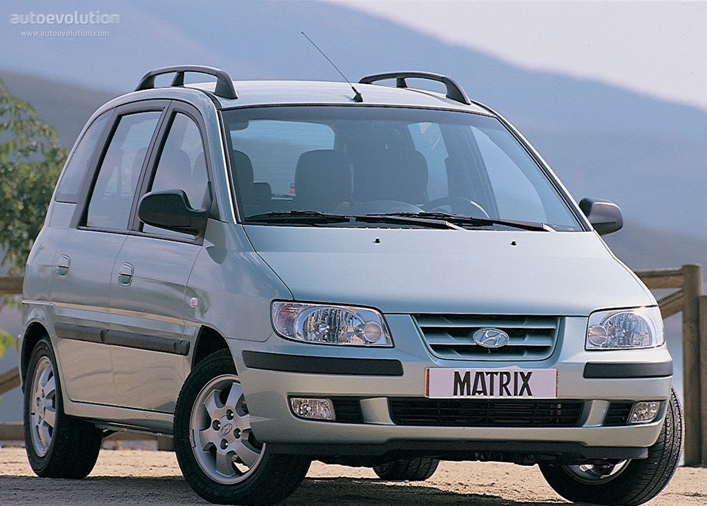 2004 Hyundai Matrix #10