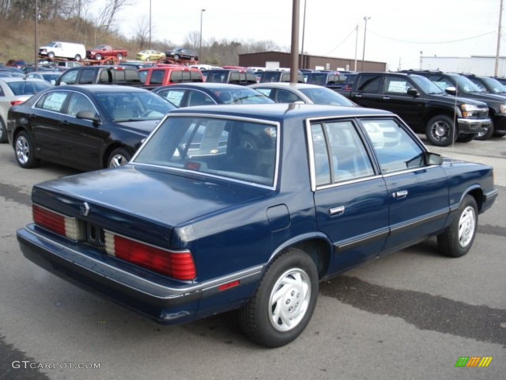 1988 Plymouth Reliant #4