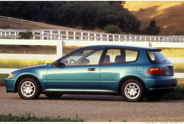 1995 Honda Civic #18
