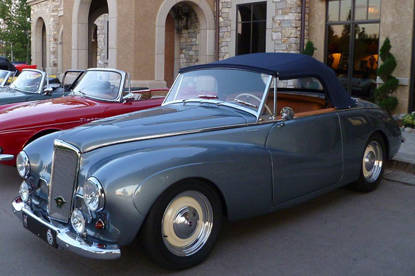 1953 Sunbeam Alpine #15