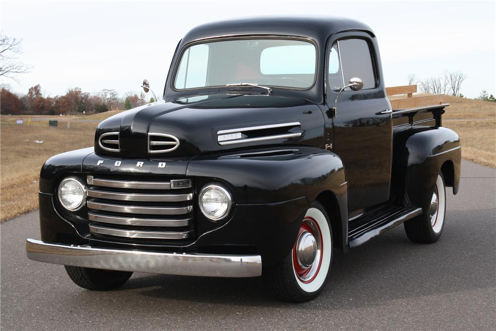 1950 Ford F #7