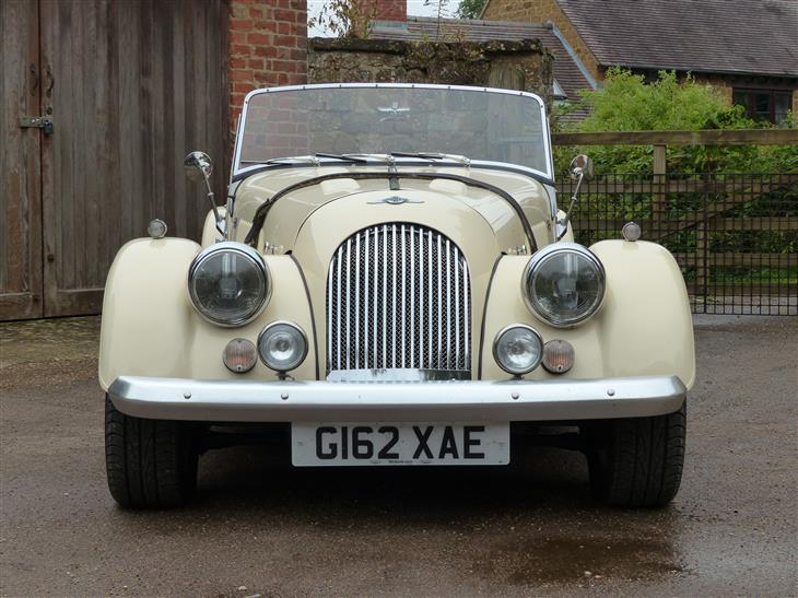 1990 Morgan Plus 4 #8
