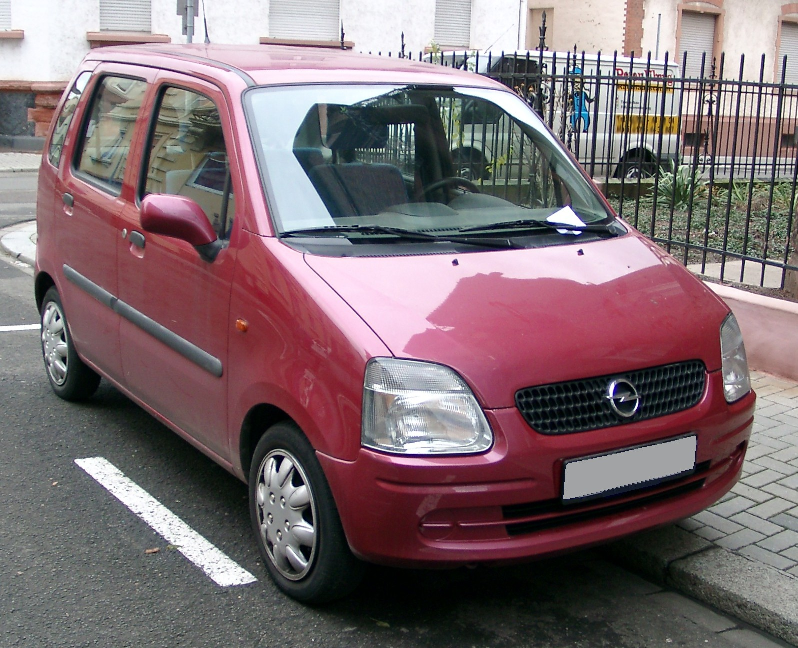 2000 Vauxhall Agila Photos Informations Articles Wiring Diagram 1