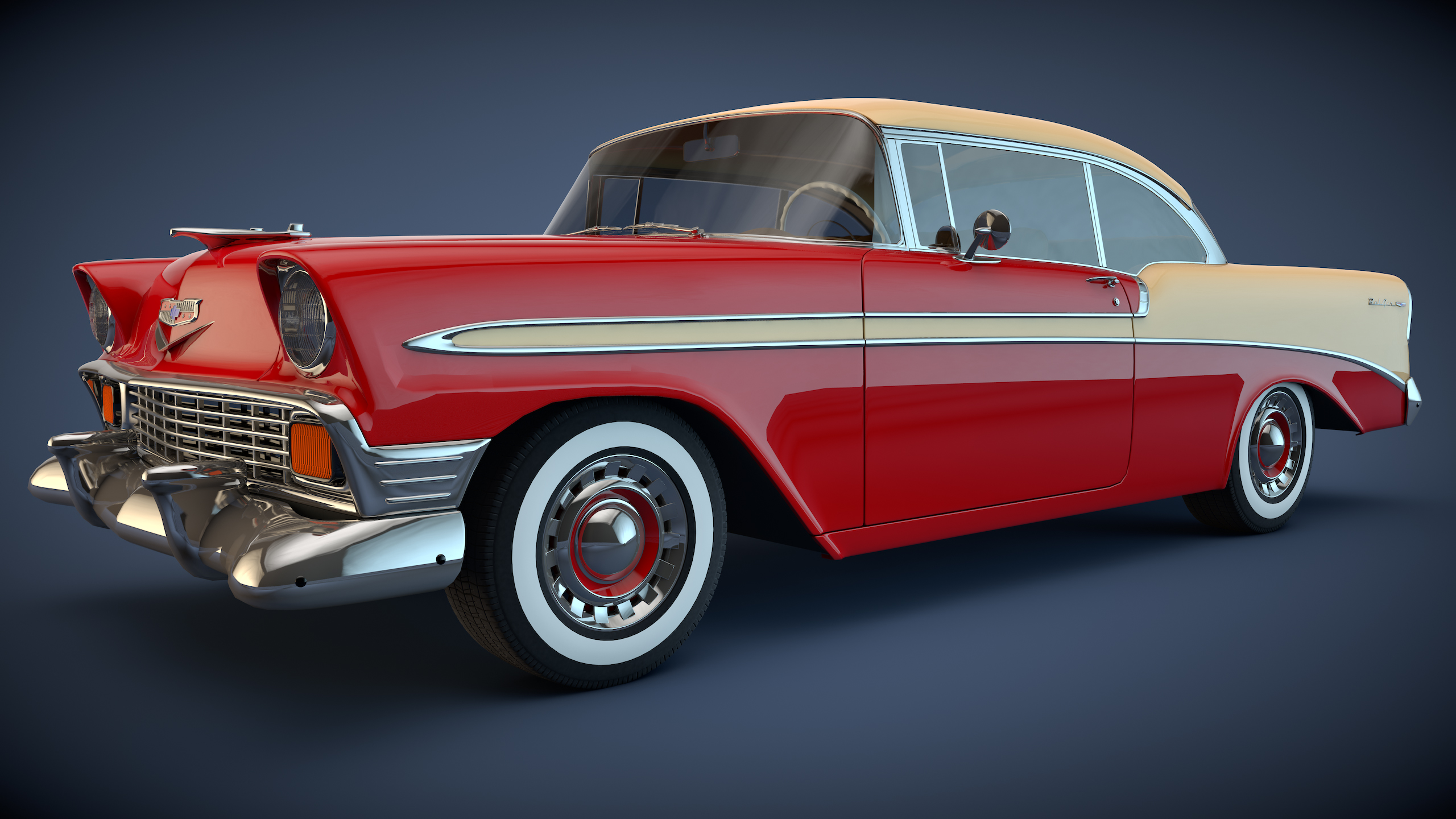 56 Chevy Wallpaper