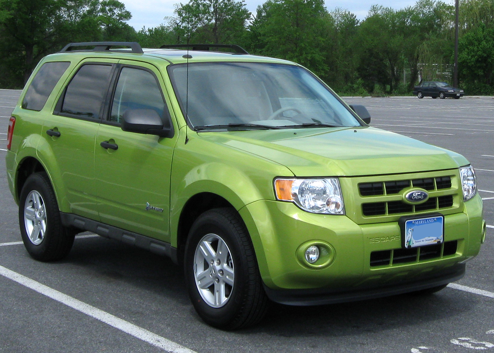 2011 Ford Escape Hybrid #6