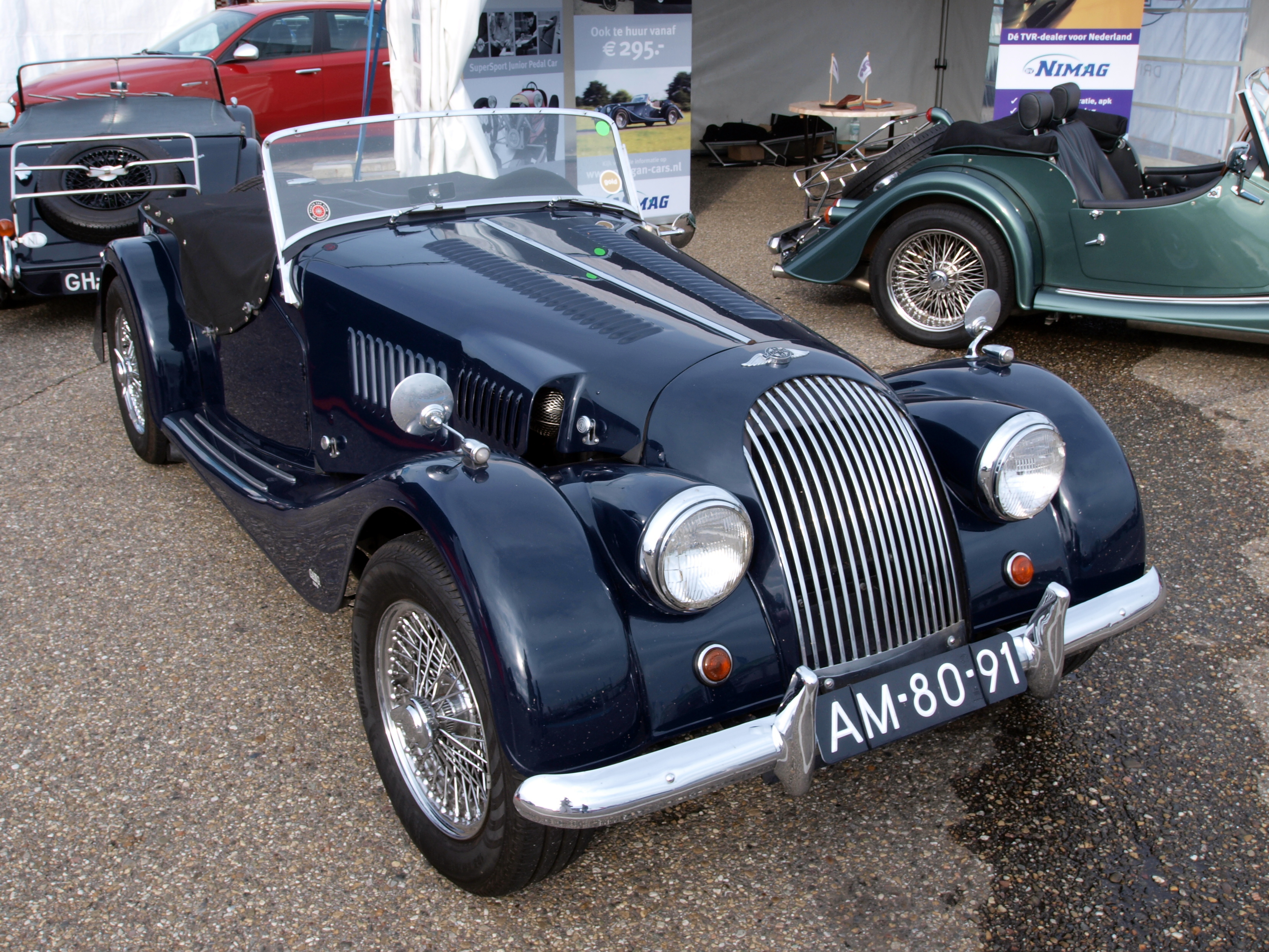 1956 Morgan Plus 4 #1