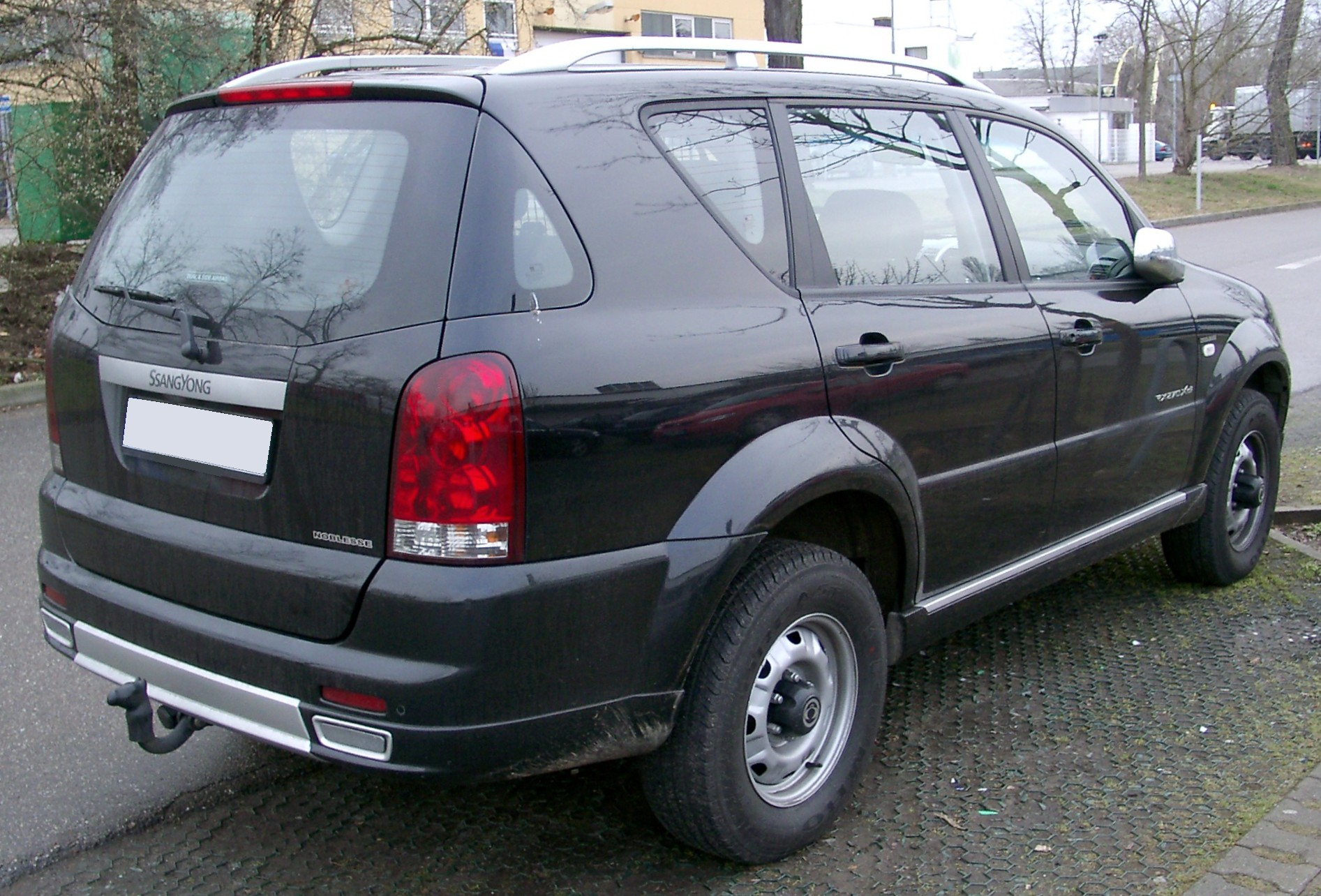 2006 Ssangyong Musso #12