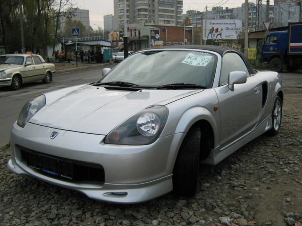 1999 Toyota MR-S #13