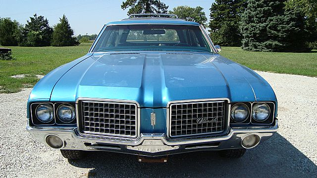 1972 Oldsmobile Vista Cruiser #12