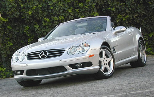 2005 Mercedes-Benz SL #12