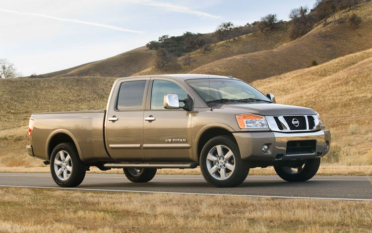 2010 Nissan Titan Photos Informations Articles Bestcarmag
