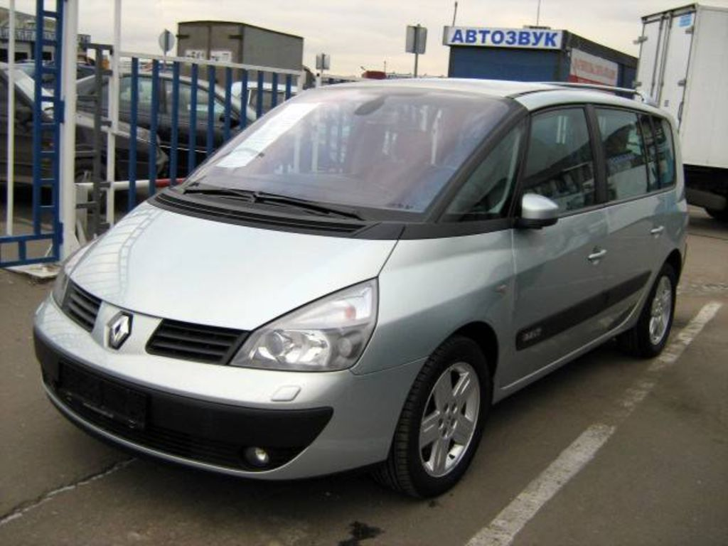 2003 renault espace photos informations articles. Black Bedroom Furniture Sets. Home Design Ideas