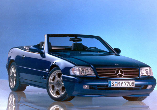1991 Mercedes-Benz SL #17