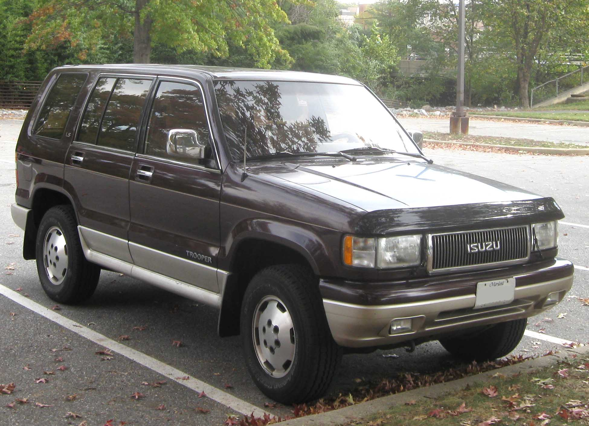 1994 Isuzu Trooper #7