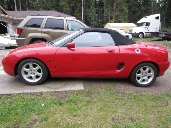 1995 Rover MGF #7