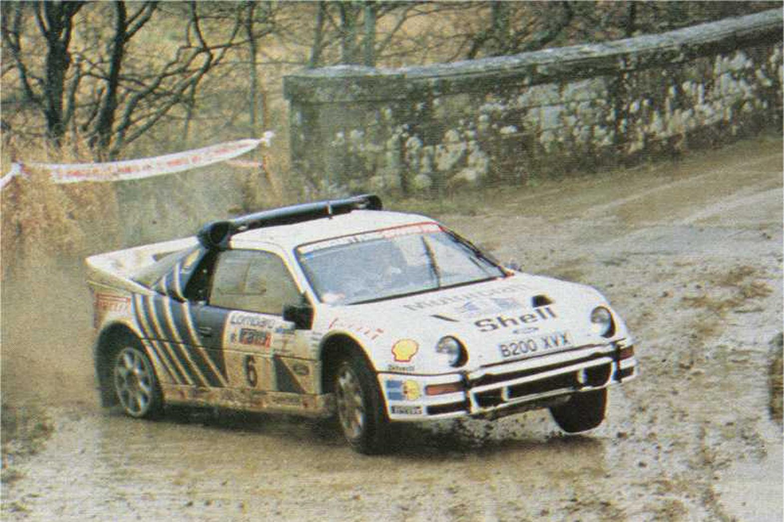 Ford RS 200 #11