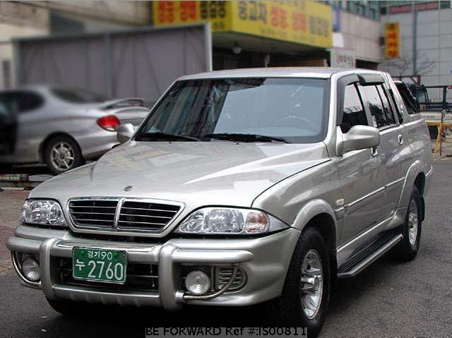 2003 Ssangyong Musso #12