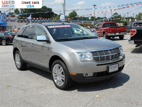 2008 Lincoln Mkx #9