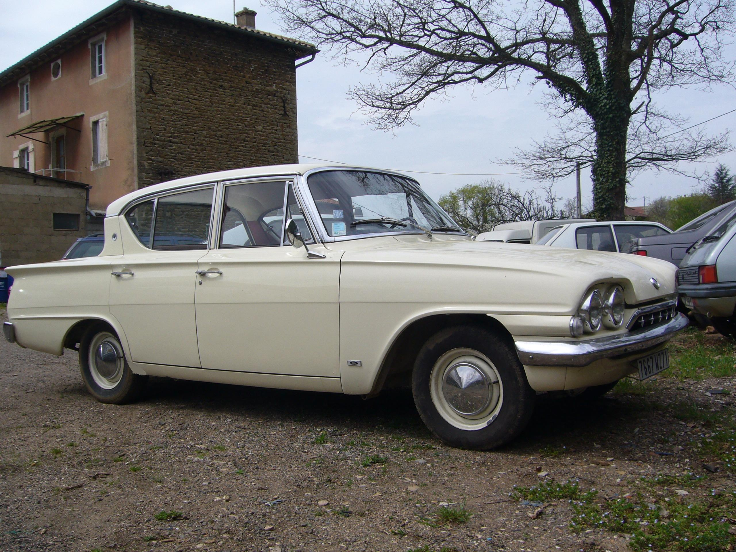 1962 ford consul photos informations articles. Black Bedroom Furniture Sets. Home Design Ideas