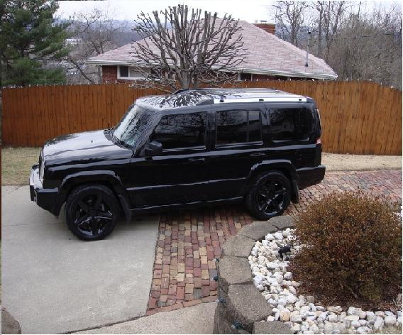 2006 Jeep Commander #9