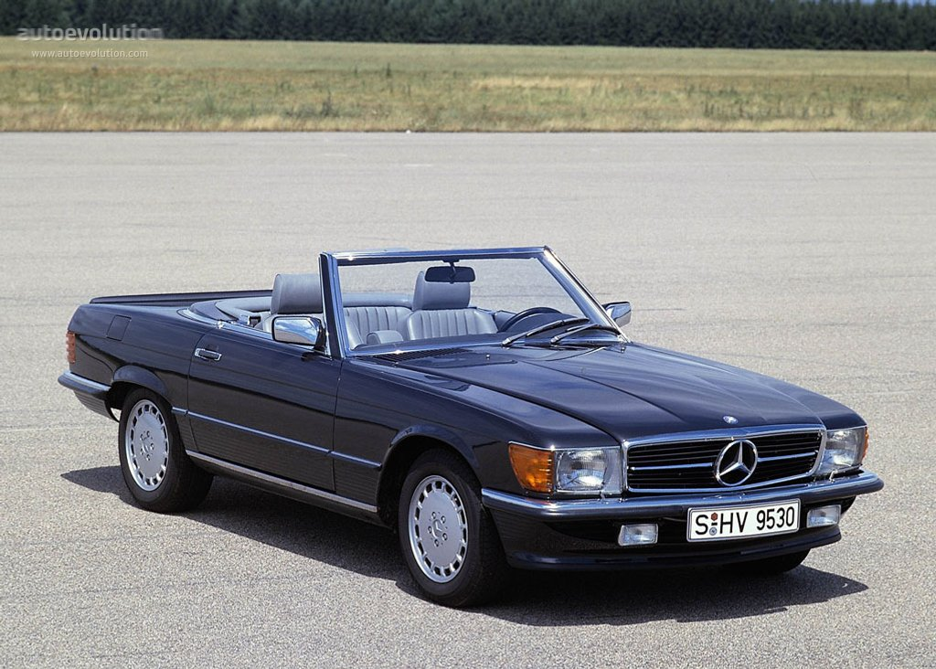1989 Mercedes-Benz SL #1