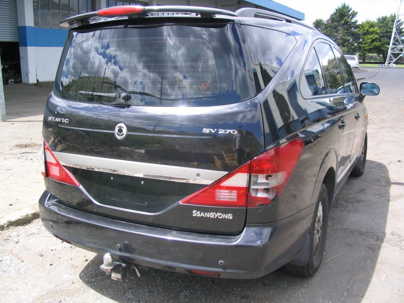 2008 Ssangyong Stavic #7