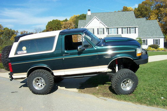 1992 Ford Bronco #6