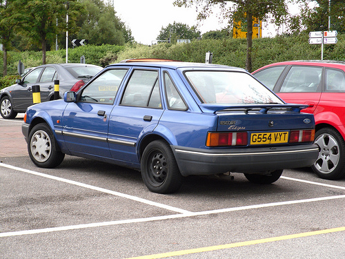 1990 Ford Orion #4