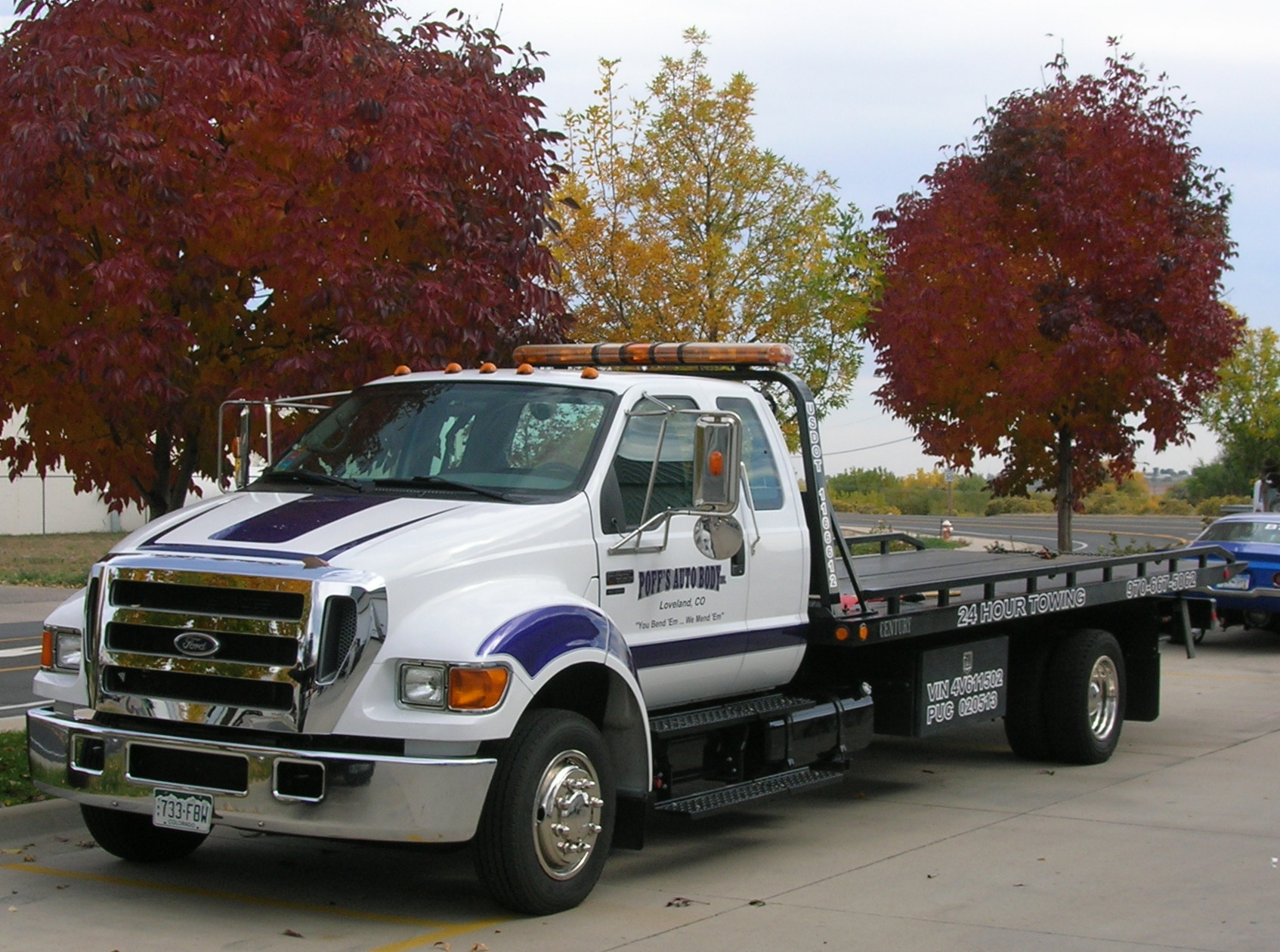 2001 Ford F-650 #12