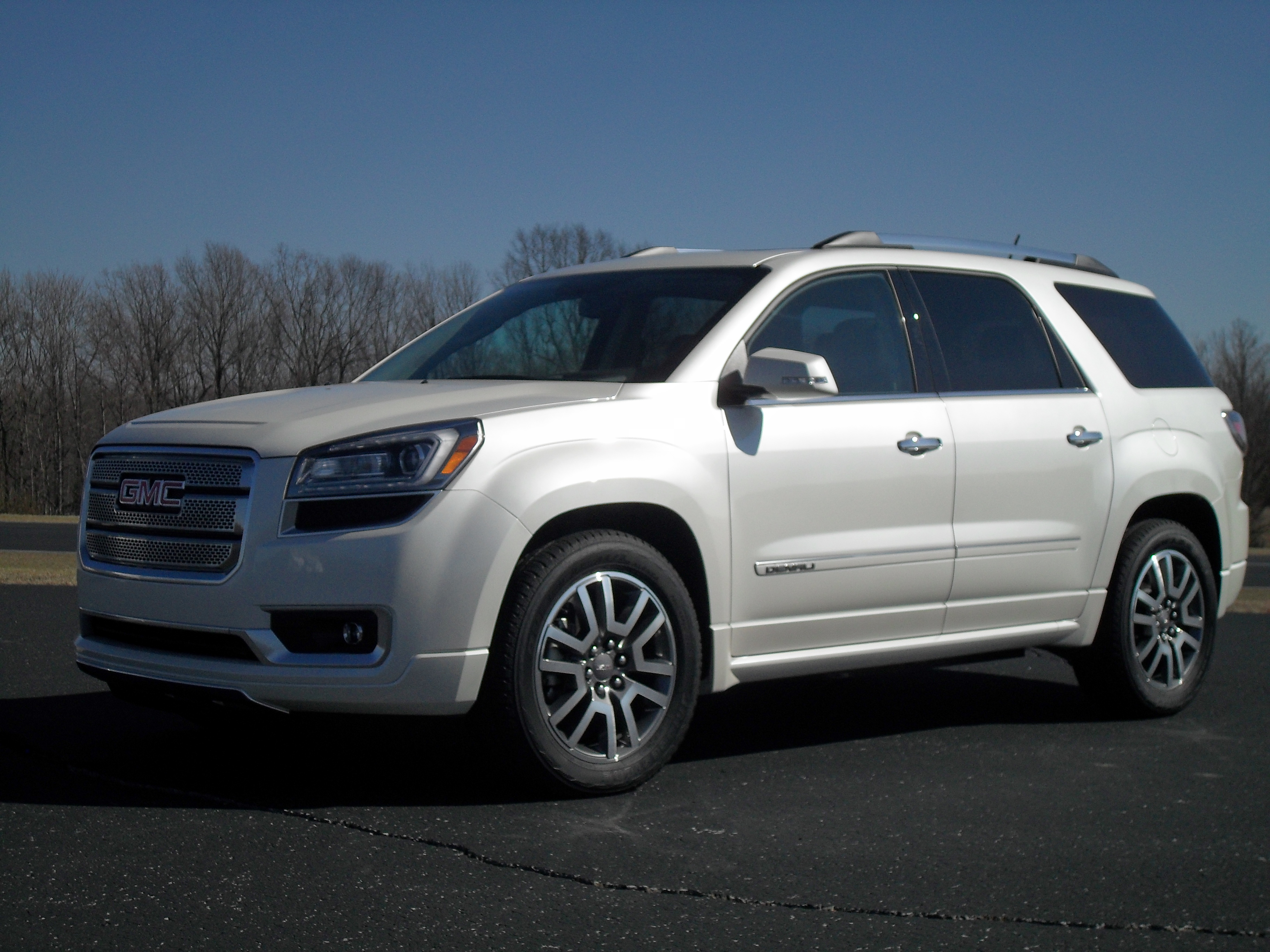 reviews mom for acadia of a gmc family s denali in img row review