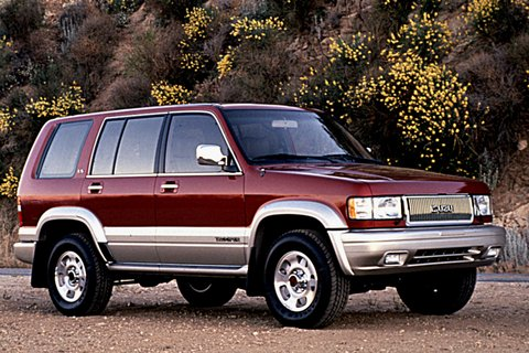 1995 Isuzu Trooper #6