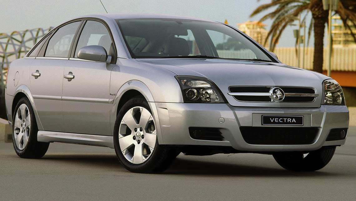 2003 Holden Vectra #2