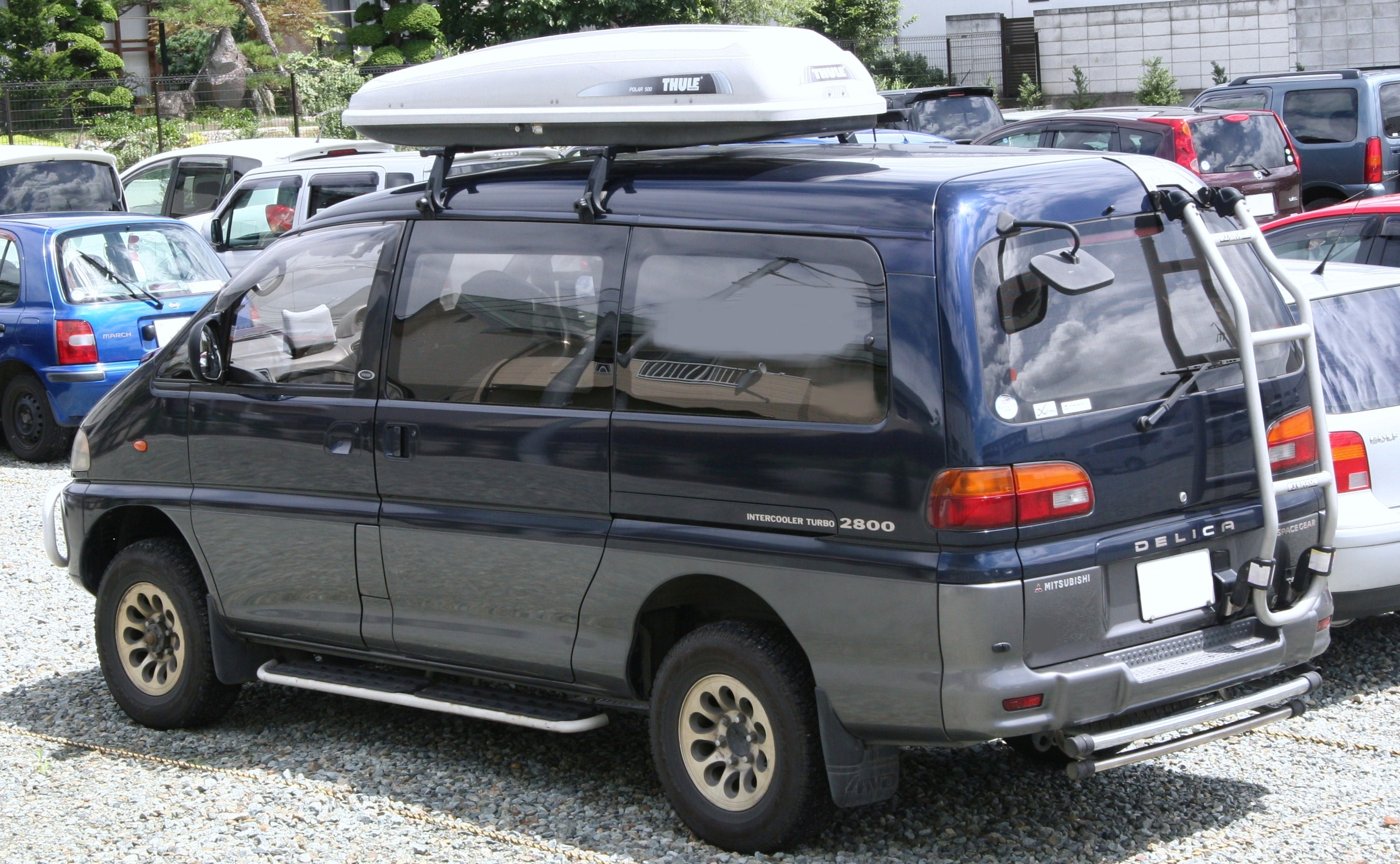 Mitsubishi Delica 96 Wiring Diagram 94 Oldsmobile Silhouette Space Gear Photos Informations Articles Radio