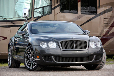 2009 Bentley Continental Gt Speed #9