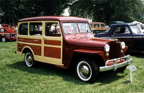 1948 Jeep Station Wagon #2