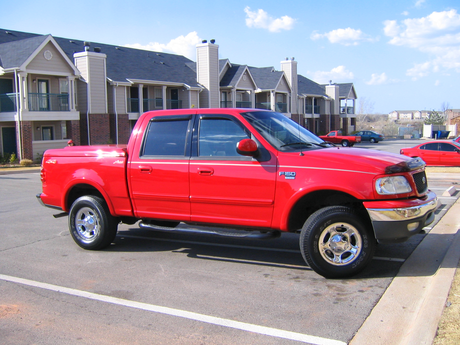 2001 ford f 150 photos informations articles. Black Bedroom Furniture Sets. Home Design Ideas