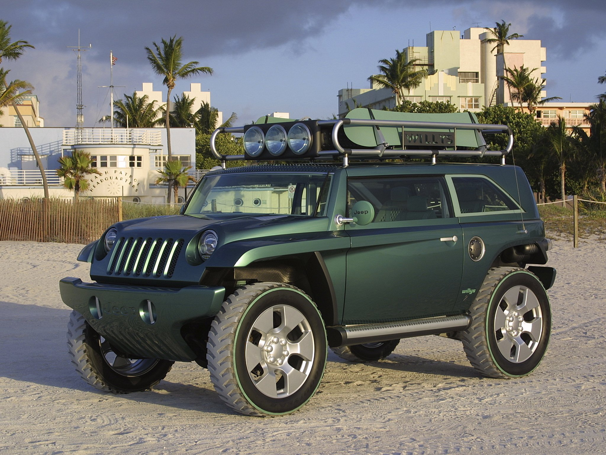 2001 Jeep Willys #12