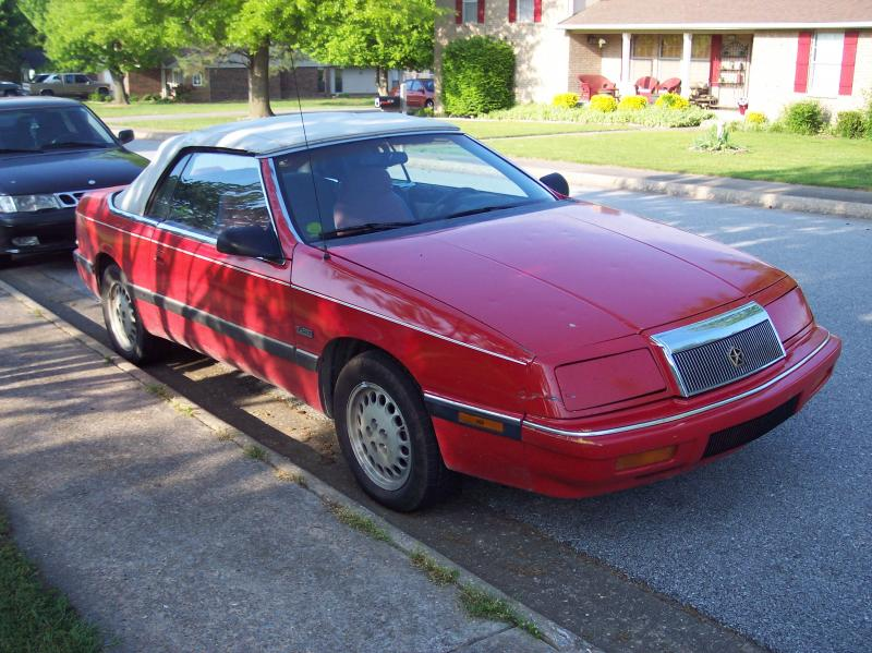1990 Chrysler Le Baron #16