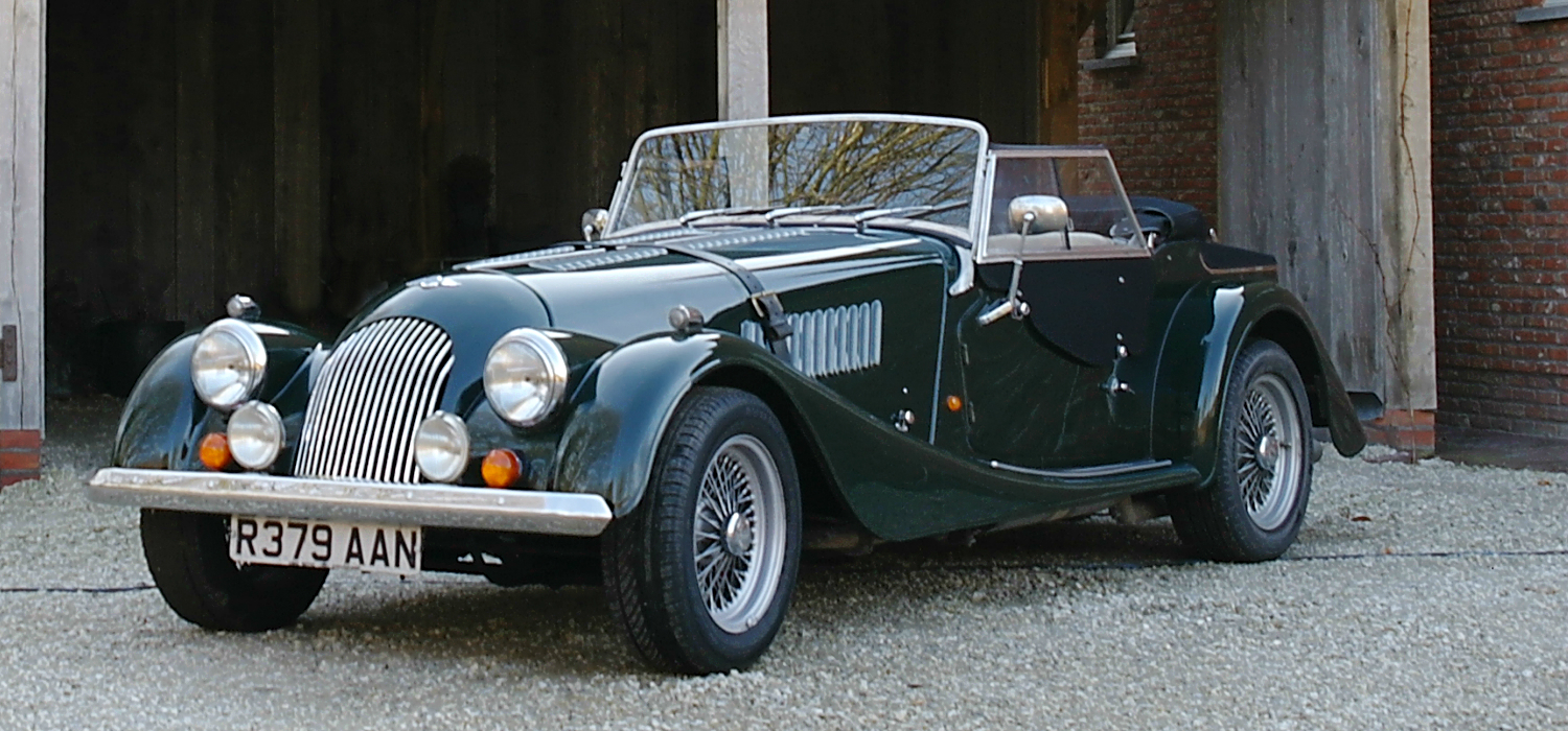1998 Morgan Plus 4 #8
