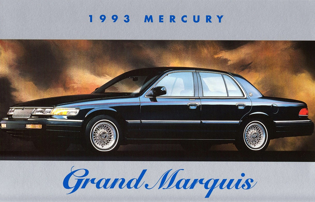 1993 Mercury Grand Marquis #12