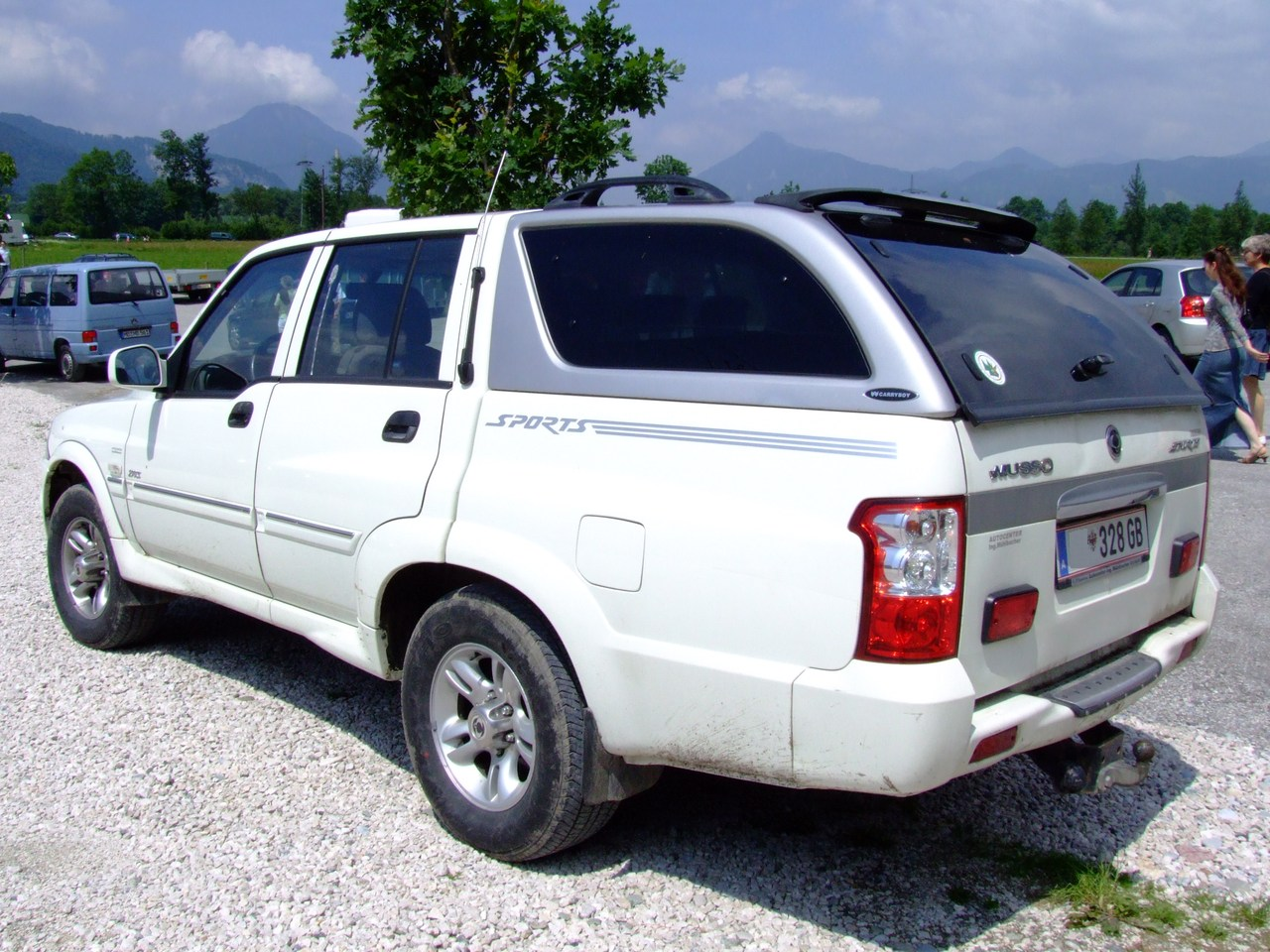 2007 Ssangyong Musso #4