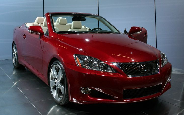2010 Lexus Is 250 C #5