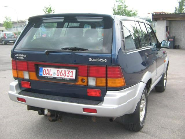 1995 Ssangyong Musso #9